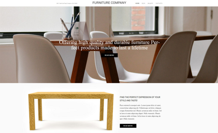 furniture-company-wordpress-theme