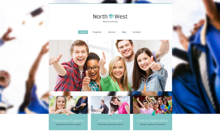 north-west-wordpress-theme