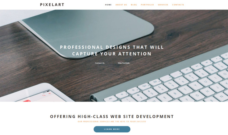 pixelart-wordpress-theme