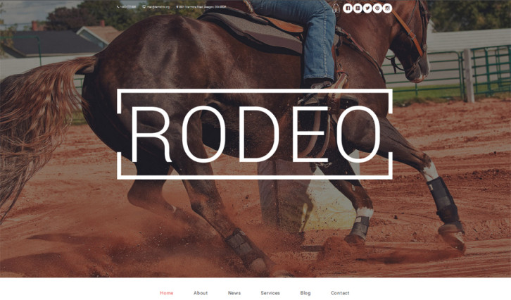 rodeo-arena-wordpress-theme