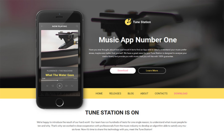tune-station-wordpress-theme