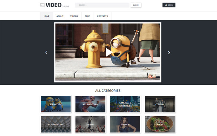 video-records-wordpress-theme