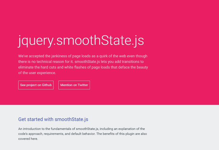 jquery-smoothstate