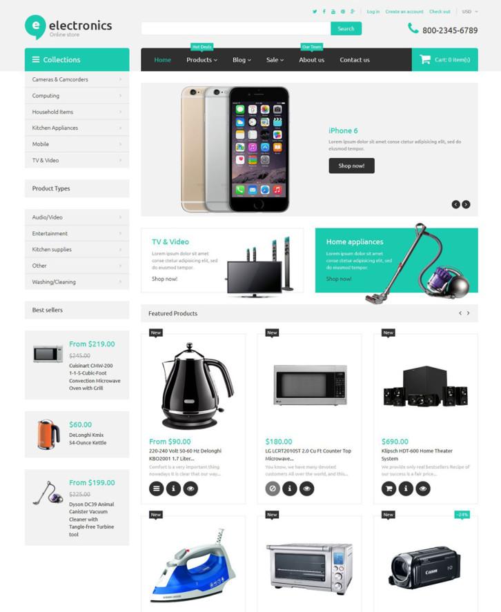 14-electronics-retailer Shopify theme