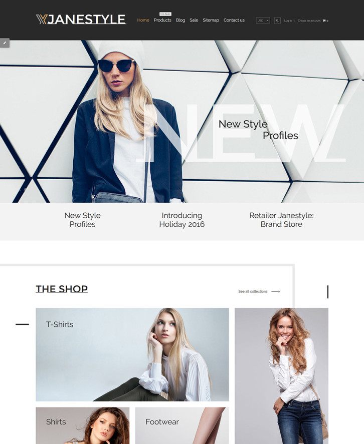 2. Apparel Shopify theme