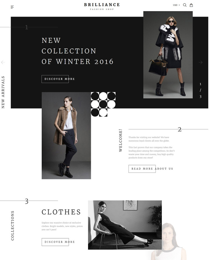 4. Brilliance Shopify theme