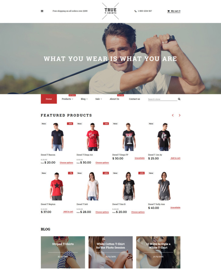 6-true-tshirts Shopify theme