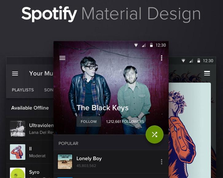 spotify-material-design