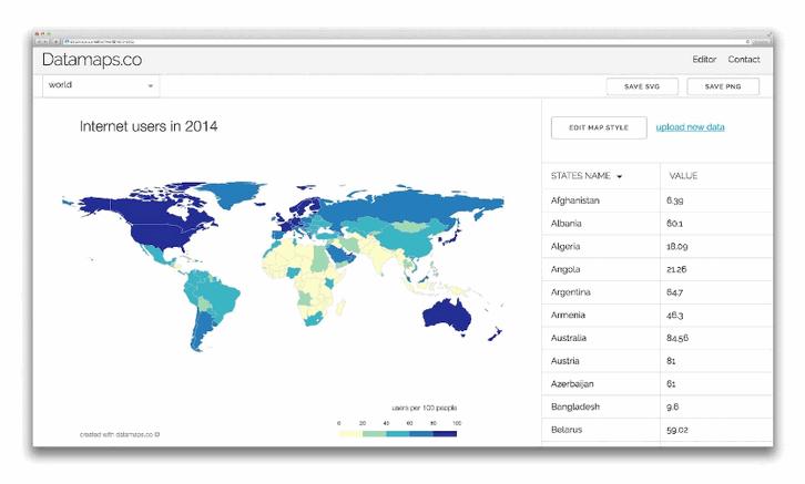 data-maps