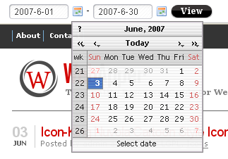 Most Features Javascript Calendar and Date Picker