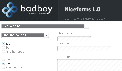 Niceforms 1.0 Released