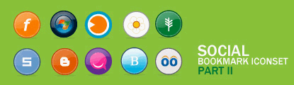 Vikiworks Round Social Bookmark Iconset